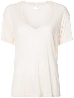 футболка с глубоким V-образным вырезом Anine Bing