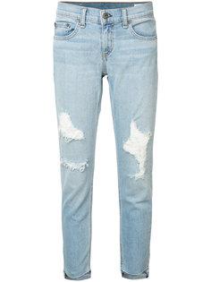 рваные джинсы скинни Marina Rag & Bone