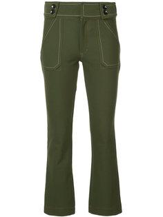 укороченные брюки клеш Derek Lam 10 Crosby