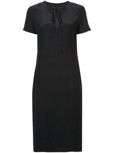 платье на завязках с короткими рукавами Jenni Kayne