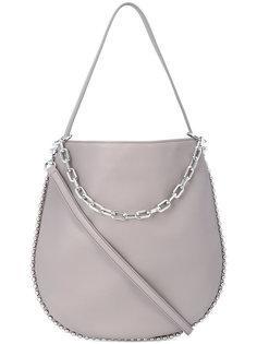 сумка через плечо на серебристой цепочке Alexander Wang
