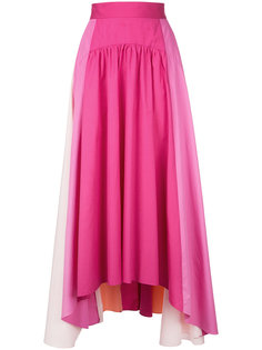 юбка в форме трапеции с панельным дизайном Peter Pilotto