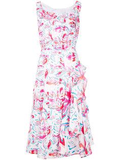 платье миди с растительным принтом Peter Pilotto