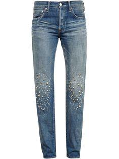 Stardust Embellished Jeans Tu Es Mon Tresor