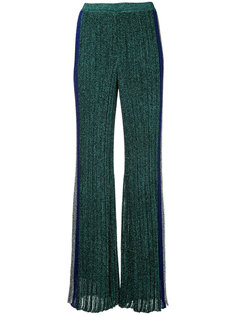 плиссированные брюки с отблеском Missoni