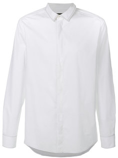 рубашка с контрастной строчкой Fendi