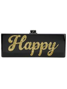 клатч-футляр Happy  Edie Parker