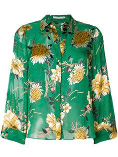 блузка с цветочным принтом  Alice+Olivia