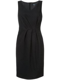 платье с V-образным вырезом Paule Ka