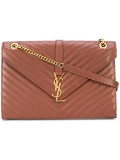 большая сумка на плечо Monogram Yves Saint Laurent Vintage