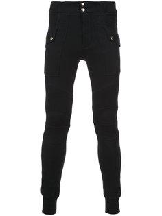 спортивные брюки карго Balmain