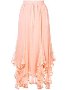 юбка с асимметричным подолом Chloé