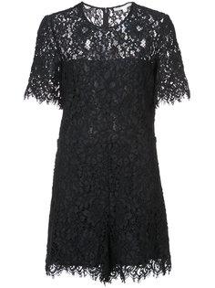 кружевное платье мини Veronica Beard