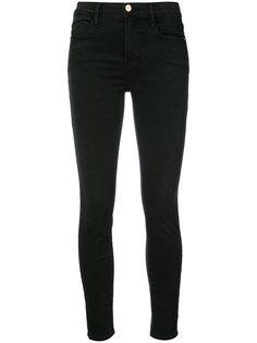 укороченные джинсы супер скинни Frame Denim
