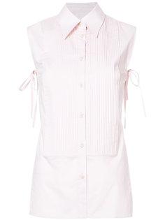 рубашка с открытой спиной Mm6 Maison Margiela