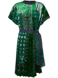 платье-бандана Sacai