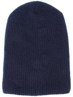 кашемировая шапка-бини в рубчик The Elder Statesman