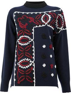 декорированный свитер Sacai