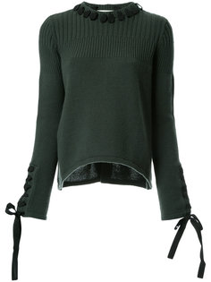 свитер с лентами  Fendi