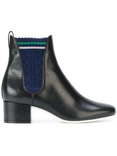 ботинки с трикотажными панелями Fendi