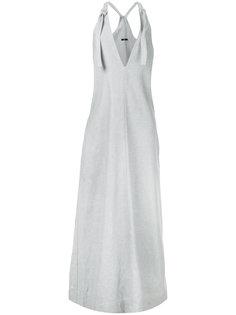 платье-мешок из денима с завязками Bassike