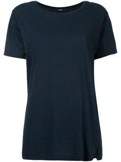 узкая футболка с декоративной строчкой Bassike