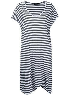 полосатое платье-футболка Bassike
