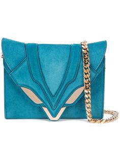 сумка через плечо с декоративной строчкой Elena Ghisellini