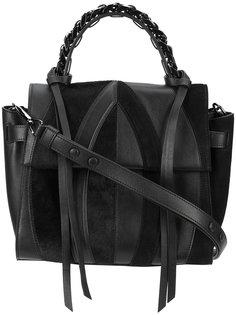 сумка на плечо с панельным дизайном Elena Ghisellini