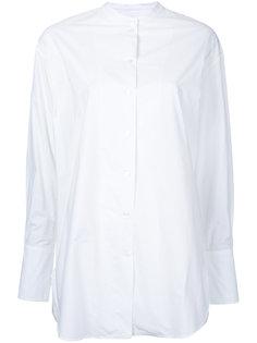 рубашка с защипами на рукавах Bassike