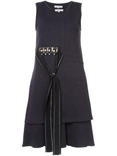 декорированное платье с поясом Dorothee Schumacher