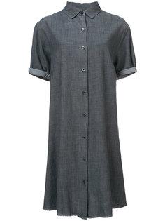 классическое платье-рубашка The Great