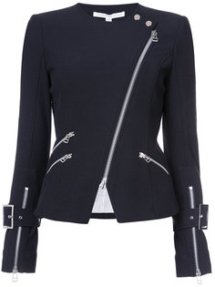 байкерская куртка на молнии Veronica Beard