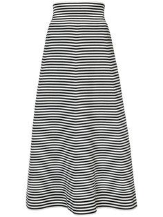 юбка А-образного силуэта в полоску Sonia Rykiel