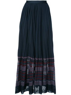 юбка со сборками на талии Oscar de la Renta