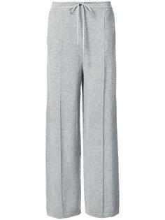 расклешенные брюки Oscar de la Renta