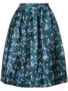 юбка с принтом Oscar de la Renta