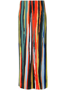 stripe pleated trousers Solace