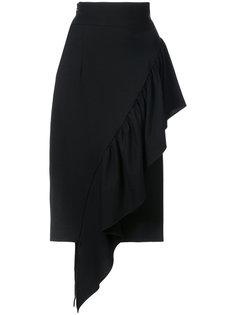 асимметричная юбка с оборками Milly