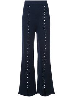 брюки с отделкой Huishan Zhang