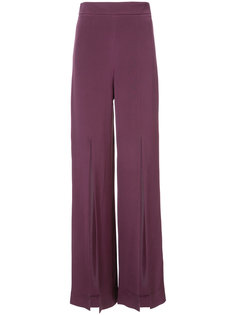 широкие брюки с разрезами Cushnie Et Ochs