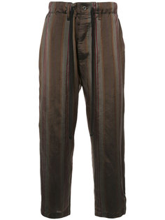брюки в полоску Uma Wang
