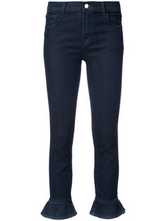 джинсы скинни с оборками J Brand