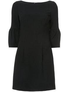 платье мини с объемными рукавами Black Halo
