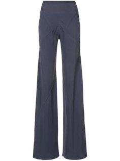 прямые брюки свободного кроя Rick Owens