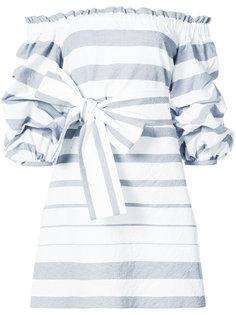 платье с оборками Alexis