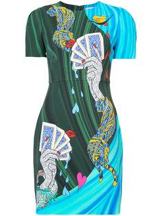 платье-футболка с принтом Mary Katrantzou
