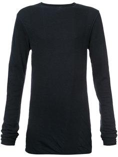 свитер с эффектом помятости Uma Wang
