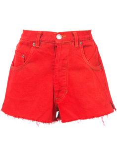 короткие джинсовые шорты Re/Done