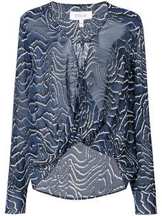 прозрачная блузка Derek Lam 10 Crosby
